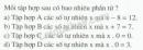Bài 16 trang 13 sgk toán 6 tập 1