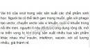 Bài 3 trang 124 SGK Sinh học 10