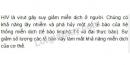 Bài 4 trang 121 SGK Sinh học 10