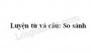 Luyện từ và câu: So sánh trang 42 SGK Tiếng Việt 3 tập 1