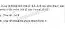 Bài 105 trang 42 SGK Toán 6 tập 1