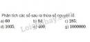 Bài 125 trang 50 SGK Toán 6 tập 1