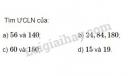 Bài 139 trang 56 SGK Toán 6 tập 1
