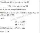 Bài 143 trang 56 SGK Toán 6 tập 1