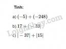 Bài 24 trang 75 SGK Toán 6 tập 1