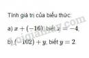 Bài 34 trang 77 SGK Toán 6 tập 1