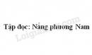 Soạn bài Nắng phương Nam trang 94 SGK Tiếng Việt 3 tập 1