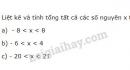 Bài 114 trang 99 SGK Toán 6 tập 1
