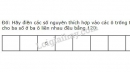 Bài 121 trang 100 SGK Toán 6 tập 1