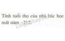 Bài 52 trang 82 SGK Toán 6 tập 1