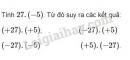 Bài 79 trang 91 sgk toán 6 tập 1
