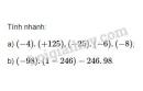 Bài 93 trang 95 SGK Toán 6 tập 1
