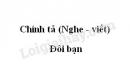Chính tả: Đôi bạn trang 132 SGK Tiếng Việt 3 tập 1