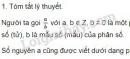 Lý thuyết mở rộng khái niệm về phân số.