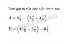 Bài 100 trang 47 SGK Toán 6 tập 2