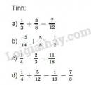 Bài 107 trang 48 SGK Toán 6 tập 2
