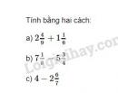 Bài 109 trang 49 SGK Toán 6 tập 2