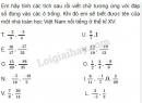 Bài 79 trang 40 SGK Toán 6 tập 2