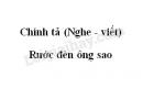 Chính tả bài Rước đèn ông sao trang 72 SGK Tiếng Việt 3 tập 2