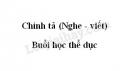 Chính tả bài Buổi học thể dục trang 91 SGK Tiếng Việt 3 tập 2