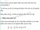 Lý thuyết phép chia phân số