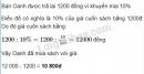 Bài 164 trang 65 SGK Toán 6 tập 2