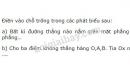 Bài 3 trang 73 SGK Toán 6 tập 2