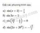Bài 1 trang 28 sgk giải tích 11