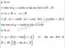 Câu 1 trang 40 SGK  Đại số và giải tích 11