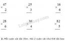 Bài 1, 2, 3 trang 22 SGK Toán 3