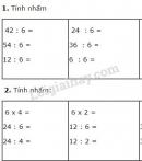 Bài 1, 2, 3, 4 trang 24 SGK Toán 3