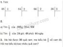 Bài 1, 2, 3 trang 28 sgk Toán 3
