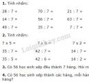 Bài 1, 2, 3, 4 trang 35 SGK Toán 3