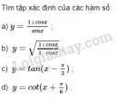Bài 2 trang 17 sgk giải tích 11