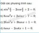 Bài 3 trang 37 SGK Đại số và Giải tích 11