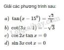 Bài 5 trang 29 SGK Đại số và Giải tích 11