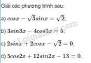 Bài 5 trang 37 SGK Đại số và Giải tích 11
