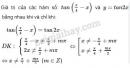 Bài 6 trang 29 SGK Đại số và Giải tích 11