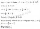 Câu 6 trang 41 SGK Đại số và giải tích 11