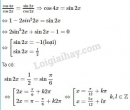 Bài 7 trang 41 SGK Đại số và Giải tích 11