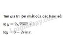 Bài 8 trang 18 SGK Đại số và Giải tích 11