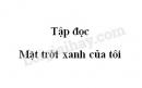 Soạn bài Mặt trời xanh của tôi trang 125 SGK Tiếng Việt 3 tập 2