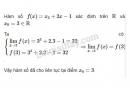 Bài 1 trang 140 SGK Đại số và Giải tích 11