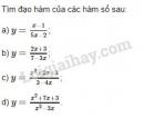 Bài 1 trang 168 sách giáo khoa Đại số và Giải tích 11
