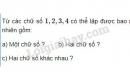 Bài 1 trang 46 SGK Đại số và Giải tích 11