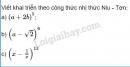 Bài 1 trang 57 SGK Đại số và Giải tích 11