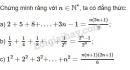 Bài 1 trang 82 SGK Đại số và Giải tích 11