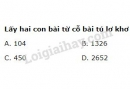 Bài 10  trang 77 SGK Đại số và Giải tích 11