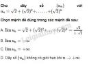 Bài 11 trang 143 SGK Đại số và Giải tích 11