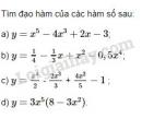 Bài 2 trang 163 SGK Đại số và Giải tích 11